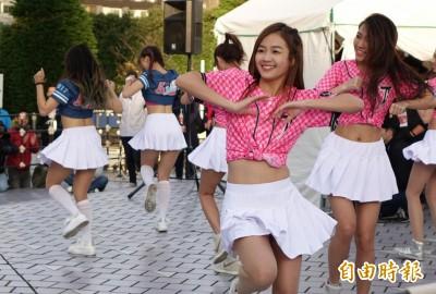 亞冠賽》啦啦隊準備好了!台日韓美女軍團場外尬舞(圖集)