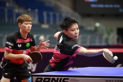 瑞典桌球賽》不敵日本少女組合 靜思配銅牌作收
