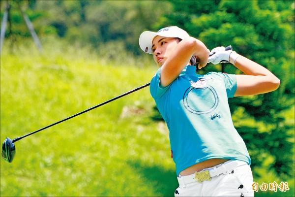 日本LPGA大王製紙女子高球賽》南韓全美貞獨走 盧曉晴拚衛冕