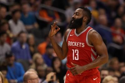 NBA》保羅歸隊+哈登狂飆48分 火箭升空大勝太陽