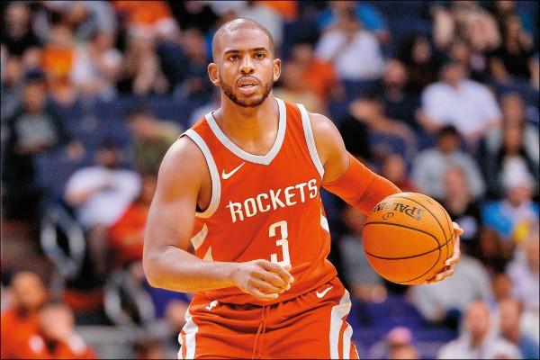 NBA》保羅歸隊點「火」 哈登砍48分射日