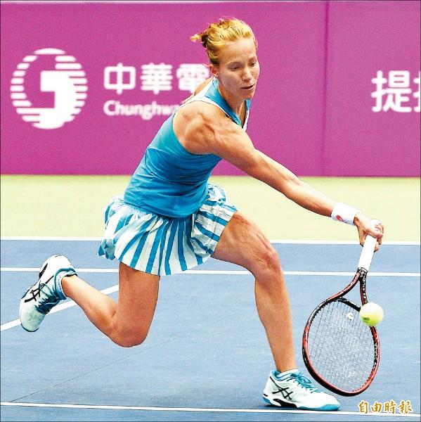 海碩盃女網賽》戈盧比克晉4強 對決「辛吉絲接班人」