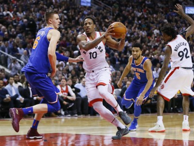 NBA》雙槍合掃44分17助攻 暴龍主場輕取尼克收三連勝(影音)