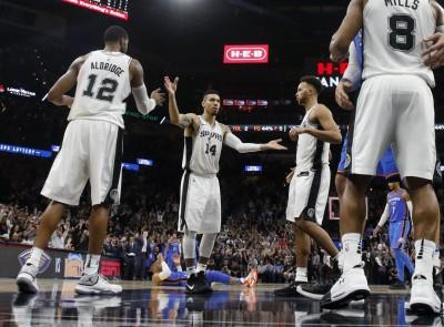 NBA》CPR連線笑不出來 馬刺上演23分驚天逆轉秀