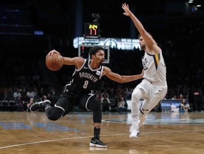 NBA》籃網兩大主控缺陣 汀維迪挺身飆25分退爵士
