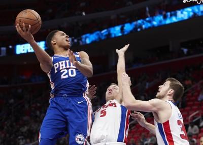 NBA》七六人狀元郎佛爾茲 預計缺席2-3周以上
