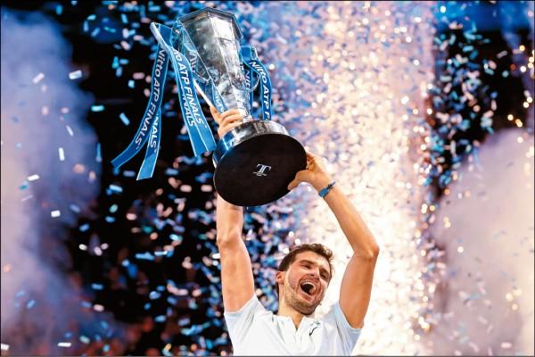 首度入圍年終賽 迪米特洛夫就摘冠