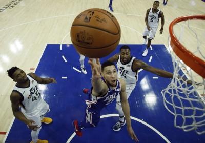 NBA》澳洲狀元郎生涯新高27分 七六人主場輕取爵士