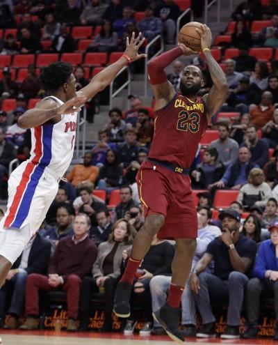 NBA》大比分差豪奪五連勝 詹皇:好久沒有這樣贏球!