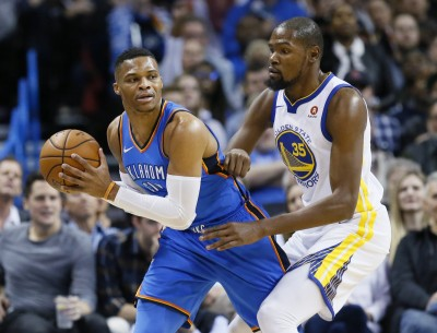 NBA》魏少殺紅眼奪本季新高 率雷霆打趴杜蘭特的勇士