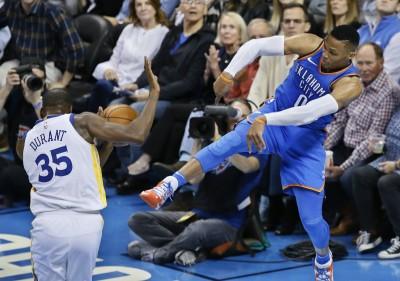 NBA》杜蘭特與魏少爆衝突引熱議 杜媽:媒體過度炒作