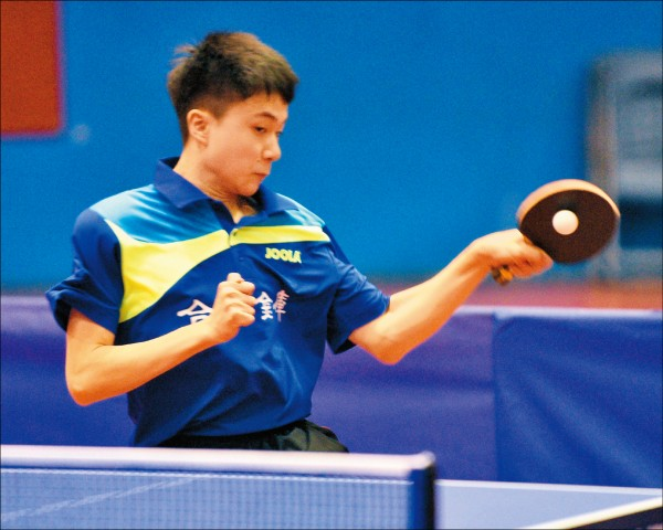 全國桌球錦標賽》16歲「神童」林昀儒 男單封王