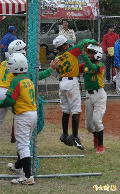 關懷盃》族群數是各隊之冠 屏山國小球員來自七族