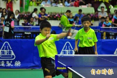 照舉辦32年推展桌球運動  新營生達盃全國桌球錦標賽開打