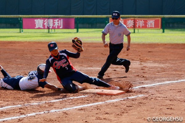 女壘亞錦賽》打不到上野的球 台灣2分惜敗日本