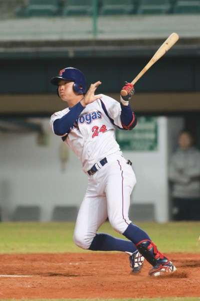 冬盟》笹川晃平3安打3打點 日本社會人大勝歐美聯隊