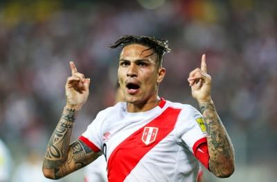 足球》祕魯進球王格雷羅藥檢未過 遭禁賽1年無緣世界盃