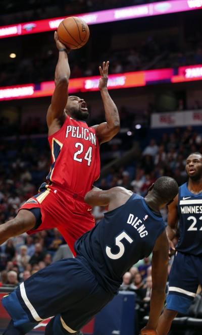 NBA》鵜鶘防守悍將T.艾倫左腓骨骨折 預計缺席3到4週