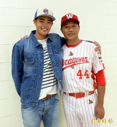 談兒子陳柏毓 陳炳男:他很愛棒球