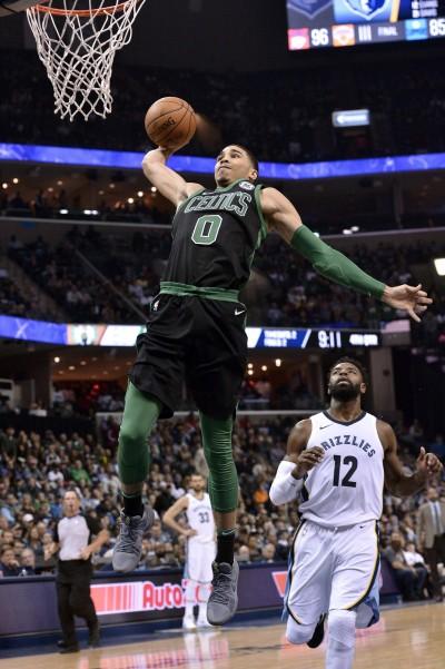 NBA》第四節16:0攻勢 綠衫軍9分差擊敗灰熊