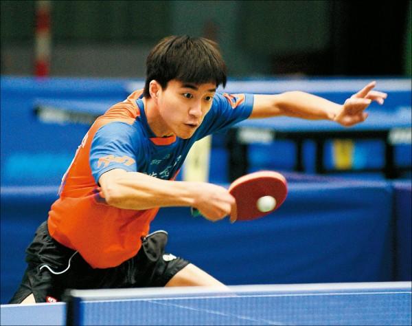 桌球國手選拔賽》江宏傑3天17場出線 留時間陪妻女