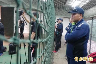 棒球》呂明賜棒球營學新東西 希望更有效指導選手