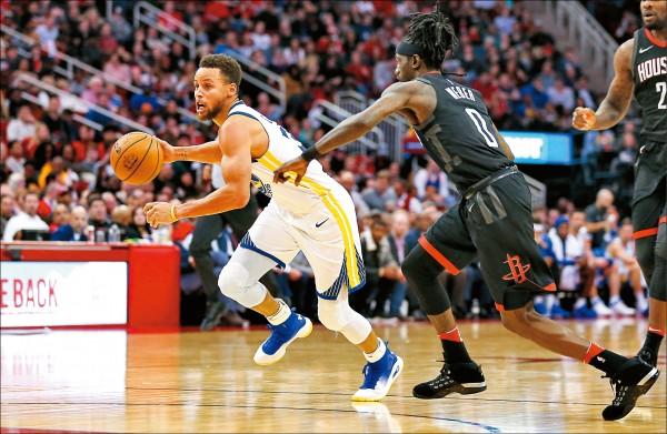 NBA》浪花發威 擊落火箭