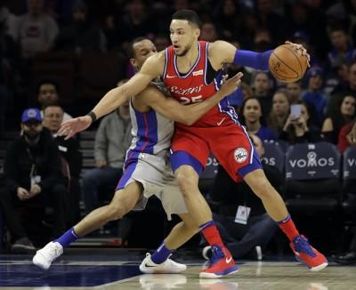 NBA 》七六人大勝活塞奪4連勝 重返東部老八