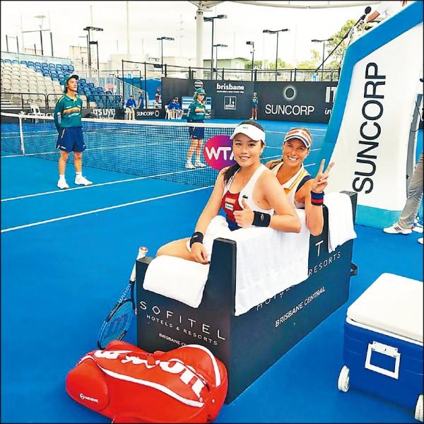 雪梨網賽以戰養戰 然赫配晉8強