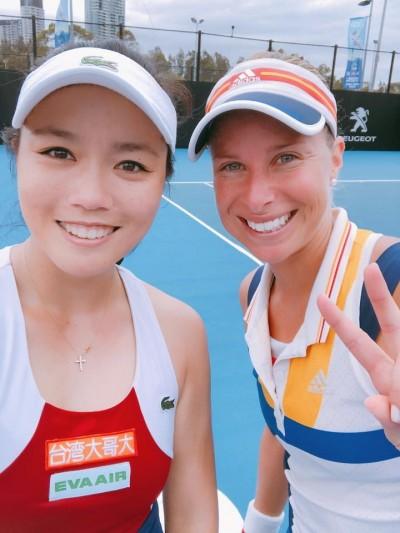 網球》女雙球后詹詠然甜蜜復仇 雪梨搶10得逞晉4強