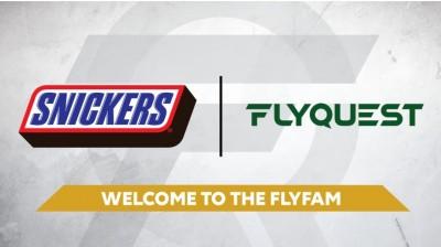電競》巧克力品牌「士力架」投入電競 成北美戰隊FlyQuest贊助夥伴