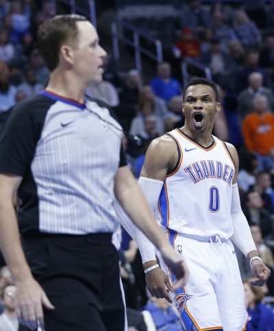 NBA》遭驅逐仍繳「準大三元」 魏少率雷霆退國王