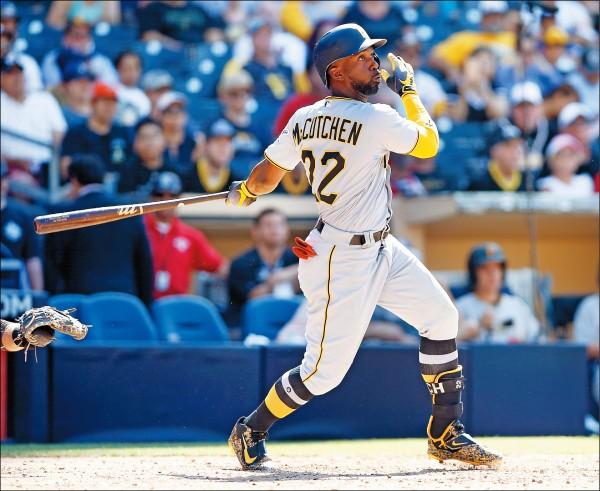 MLB》巨人換來麥考琴 強化打線火力