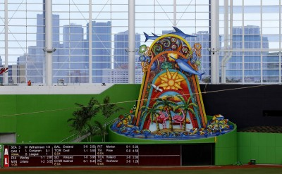 MLB》基特連這也要拆? 馬林魚想移除全壘打造景(影音)