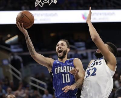 NBA》富尼耶飆生涯新高32分 魔術擊敗灰狼止7連敗