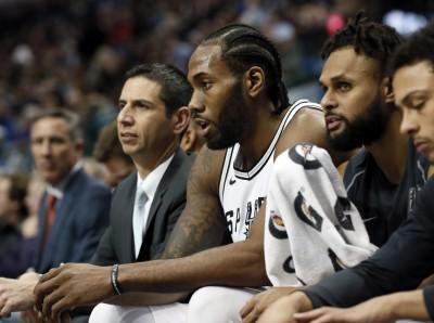 NBA》馬刺明星雷納德 因傷無限期休戰