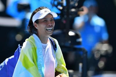 網球》謝淑薇明晚戰前世界第2名將 力拚生涯最佳澳網女單16強