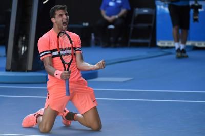 澳網》克服大熱天  迪米特洛夫苦戰3小時闖進16強