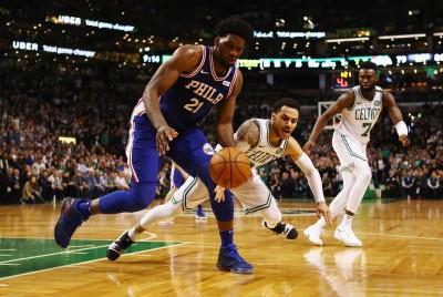 NBA》恩比德繳雙十退綠衫軍 七六人近7戰6勝