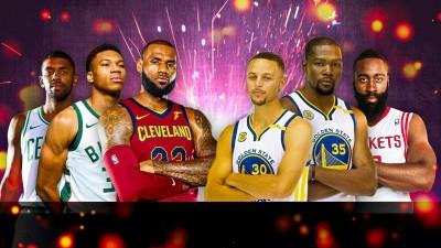 NBA》2018明星賽先發名單出爐!「詹皇」率隊力尬「萌神」