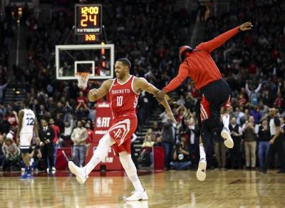 NBA》哈登歸隊手感冷 火箭替補建功擊退灰狼
