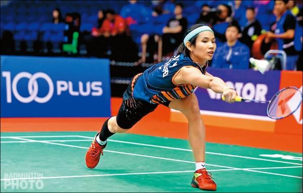 馬來西亞羽球大師賽》台灣製造戴資穎 整年沒輸過中國