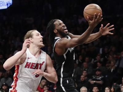 NBA》籃網末節上演逆轉秀 卡羅率隊滅熱火