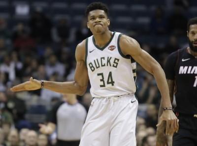 NBA》右膝微恙持續缺陣 字母哥連休8天進廠維修