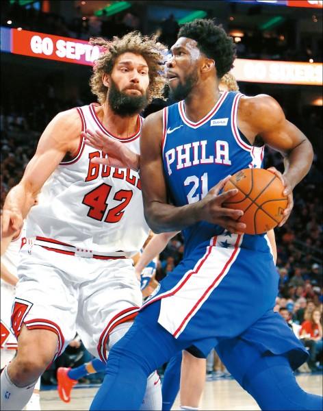 NBA挑戰賽 新人王秀肌肉