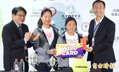 網球》「小鋼砲」梁恩碩青少女躍升世界第2 台灣女網明戰烏國雙胞胎
