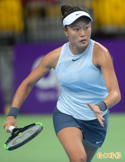 網球》神奇化解七賽末點 張凱貞台灣賽次輪仍落敗