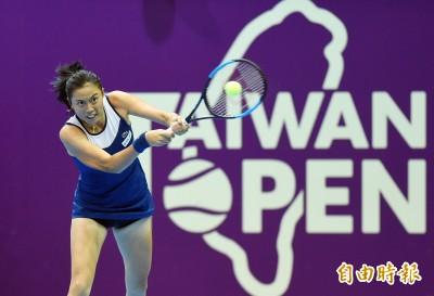 WTA台灣公開賽詹皓晴女雙八強 今日賽事預告與轉播