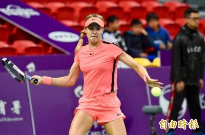 網球》布莎兒贏得「美麗對決」 台灣女網晉單打8強