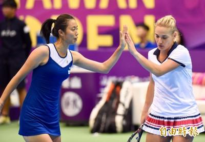 網球》衛冕者詹皓晴人馬射日 台灣女網連勝晉雙打4強
